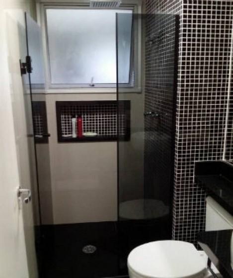 Box de Vidro para Banheiro Fumê Orçar Juréia - Box de Vidro para Banheiro Verde