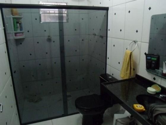 Box de Vidro para Banheiro Fumê Araras - Box de Vidro para Banheiro Verde