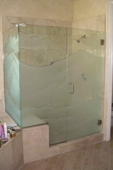 Boxes de Vidro Jateado para Banheiro Consolação - Box de Vidro para Banheiro Fumê