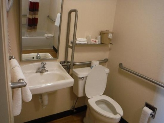 Colocação de Corrimão para Banheiro de Idoso Santana de Parnaíba - Corrimão de Inox de Banheiro