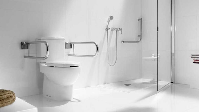 Corrimão de Alumínio Banheiro Valores São Bernardo do Campo - Corrimão de Inox de Banheiro