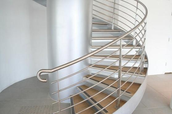 Corrimão de Alumínio para Escada Ilha Comprida - Corrimão de Parede em Alumínio