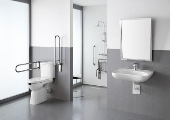 Corrimão de Inox de Banheiro Bela Vista - Corrimão de Inox de Banheiro