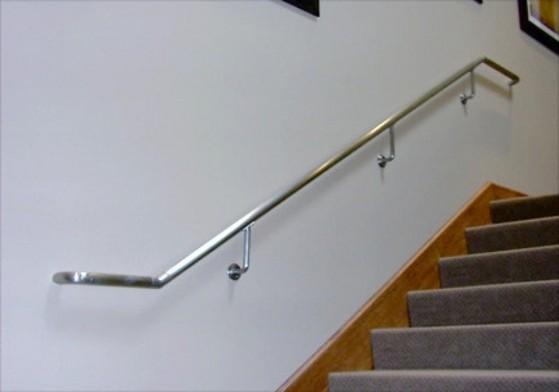 Corrimão de Parede em Alumínio Preço GRANJA VIANA - Corrimão Escada Alumínio