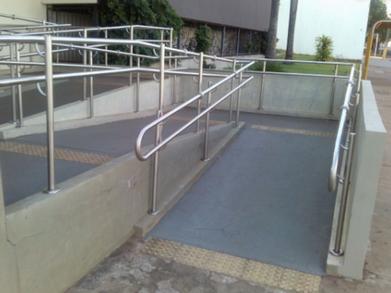 Corrimão de Rampa Preço Ribeirão Pires - Corrimão para Rampa de Cadeirante