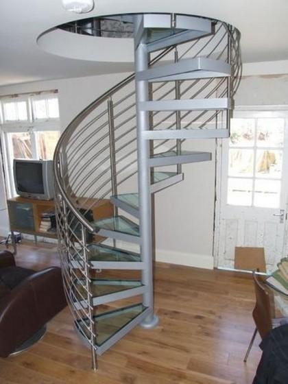 Corrimão Escada Alumínio Preço Praia Grande - Corrimão de Alumínio com Vidro