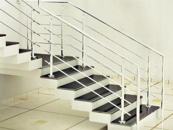 Empresas Que Fazem Corrimão de Aço Inox Embu das Artes - Corrimão de Escada Inox