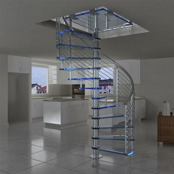 Empresas Que Fazem Corrimão de Escada de Inox Alphaville - Corrimão de Vidro com Inox