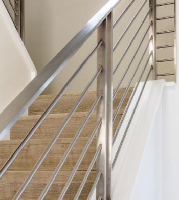 Instalação de Corrimão de Inox na Escada Bauru - Corrimão de Inox com Vidro