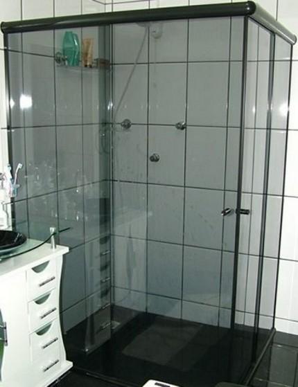 Montagem de Box de Vidro para Banheiro Fumê Jaboticabal - Box de Vidro para Banheiro Fumê