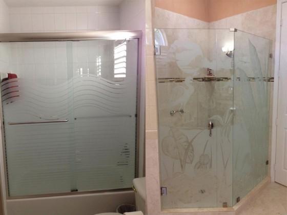 Onde Encontro Box de Vidro Jateado para Banheiro Mongaguá - Box de Vidro para Banheiro Fumê