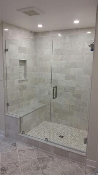 Onde Encontro Box de Vidro para Banheiro Pequeno Americana - Box de Vidro para Banheiro Fumê