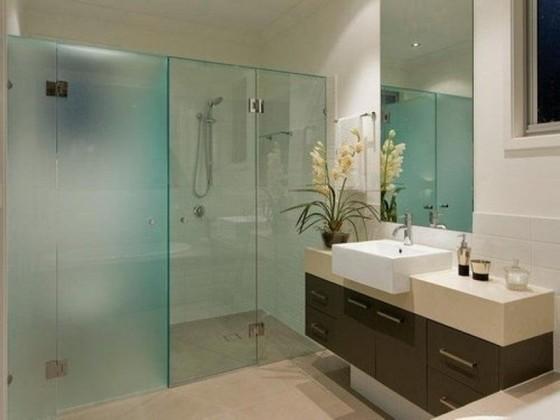 Onde Encontro Box de Vidro para Banheiro Verde Bixiga - Box de Vidro para Banheiro Fumê