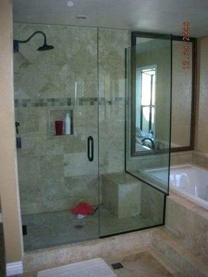 Onde Encontro Box de Vidro Verde para Banheiro Mendonça - Box de Vidro para Banheiro Verde