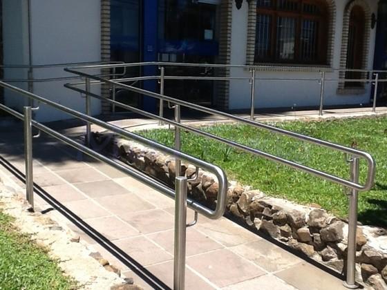 Orçamento para Corrimão para Rampa de Acessibilidade Mongaguá - Corrimão para Rampa de Cadeirante