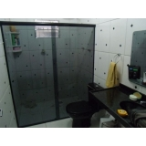 box de vidro para banheiro fumê Araras