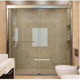 box de vidro para o banheiro Americana