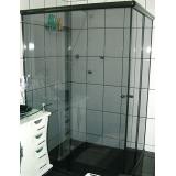 box para banheiro de vidro temperado orçar Ilha Comprida