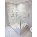 box para banheiro de vidro temperado Paulínia