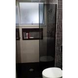 boxes de vidro fumê para banheiro Bauru