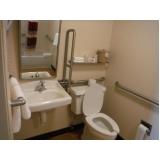 colocação de corrimão de alumínio para banheiro Santa Isabel