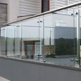 colocação de guarda corpo inox vidro Trianon Masp