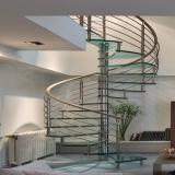 corrimão escada alumínio