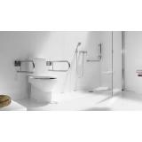 corrimão de alumínio banheiro valores São Vicente