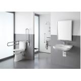 corrimão de alumínio banheiro Pari