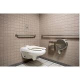 corrimão de alumínio de banheiro Piracicaba