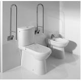 corrimão de alumínio para banheiro Consolação