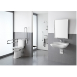 corrimão de inox para banheiro Aclimação