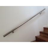 corrimão de parede alumínio preço Litoral