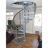 corrimão escada de inox Jundiaí
