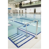 corrimão inox para piscina Indaiatuba