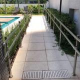corrimão para rampa de acessibilidade Centro de São Paulo