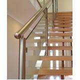 empresas que fazem corrimão de alumínio para escada Itupeva