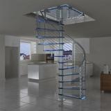 empresas que fazem corrimão de escada inox ABC