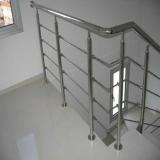instalação de corrimão escada alumínio Mendonça