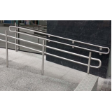 instalação de corrimão para rampa de acessibilidade Santo André