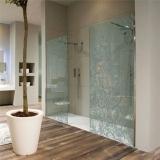 montagem de box de vidro jateado para banheiro Caieiras