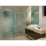 onde encontro box de vidro para banheiro verde Araraquara