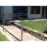 orçamento para corrimão para rampa de deficiente Araraquara